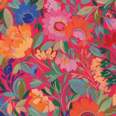 Mexican Garden Art Print by Kim Parker | iCanvas