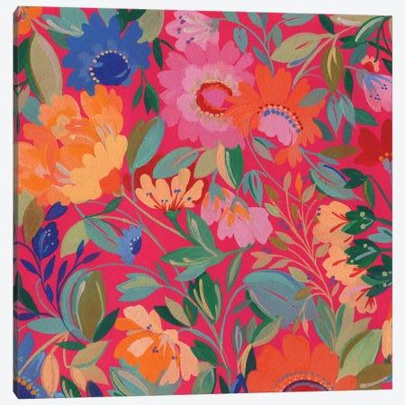 Mexican Garden Canvas Print #KPA42} by Kim Parker Canvas Wall Art