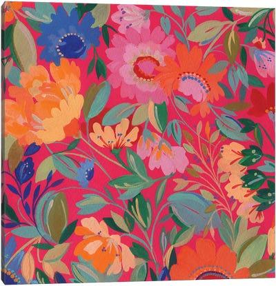 Mexican Garden Canvas Art Print