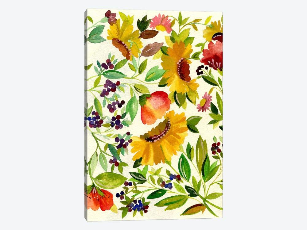 Sunflowers by Kim Parker 1-piece Canvas Art