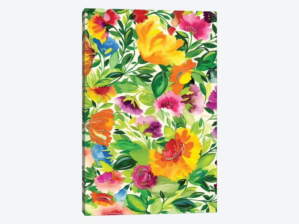 July Bouquet by Kim Parker 1-piece Canvas Art