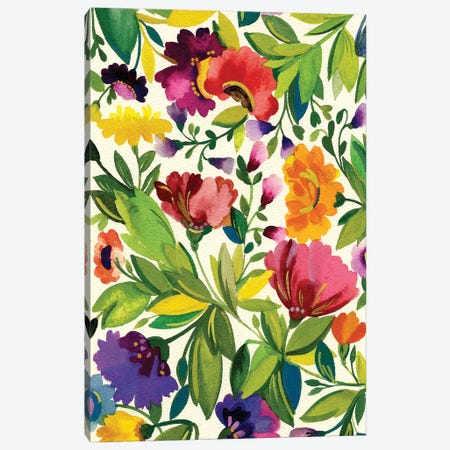 September Bouquet Canvas Print #KPA48} by Kim Parker Canvas Wall Art