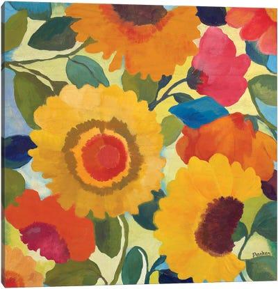 Market Flowers I Canvas Art Print
