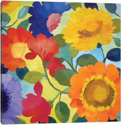 Market Flowers II Canvas Art Print