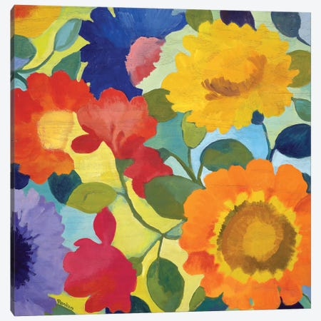 Market Flowers II 3-Piece Canvas #KPA56} by Kim Parker Canvas Wall Art