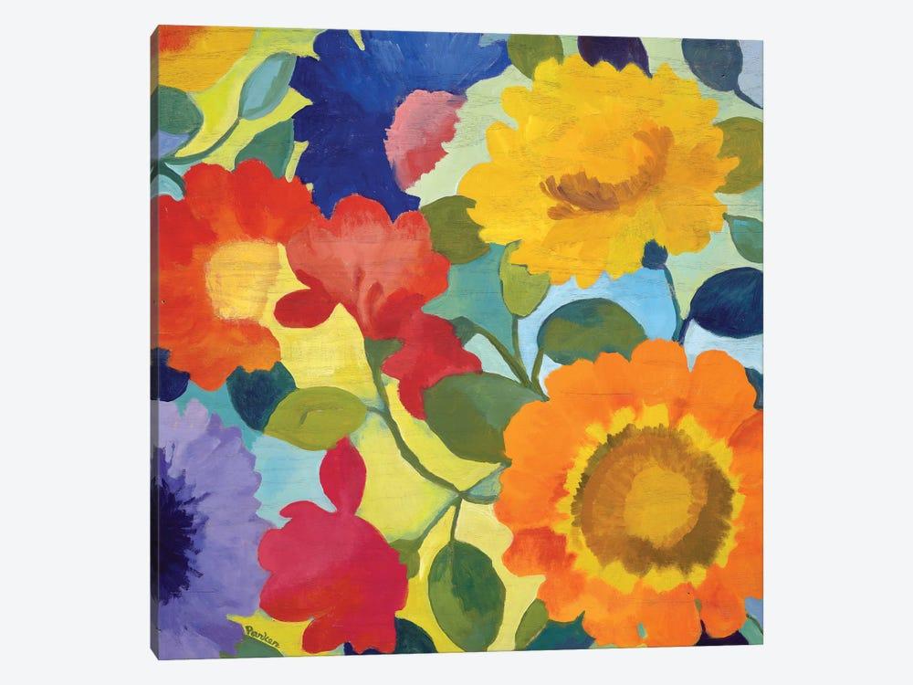Market Flowers II by Kim Parker 1-piece Canvas Artwork