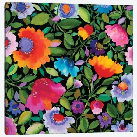 India Garden I Canvas Print #KPA5} by Kim Parker Canvas Wall Art