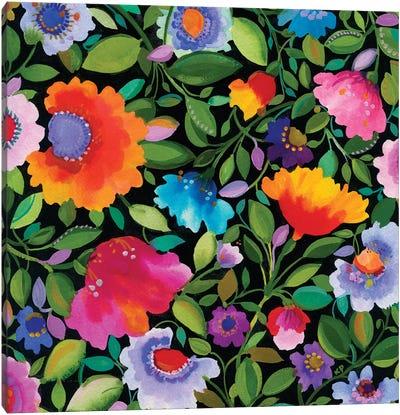 India Garden I Canvas Art Print
