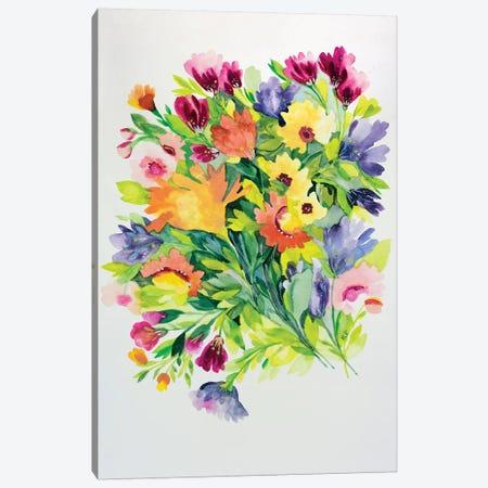 Autumnal Bouquet Canvas Print #KPA61} by Kim Parker Canvas Wall Art