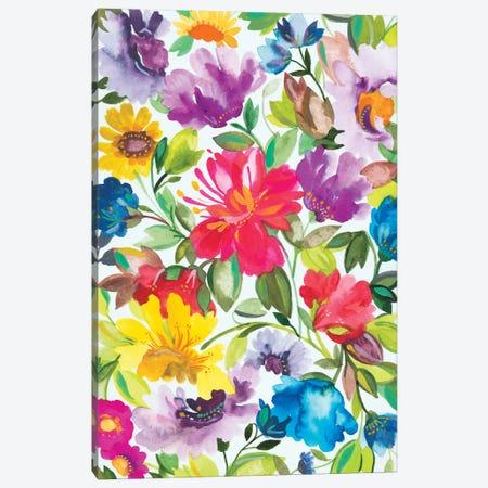 Hibiscus Canvas Print #KPA65} by Kim Parker Art Print