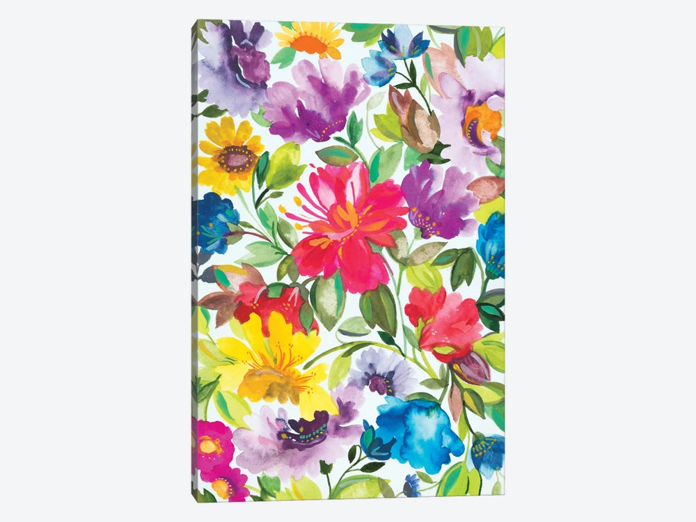 Hibiscus by Kim Parker 1-piece Canvas Artwork
