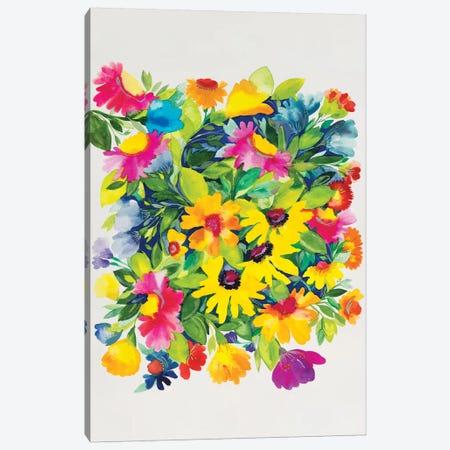 Late Summer's Bouquet Canvas Print #KPA66} by Kim Parker Canvas Art Print