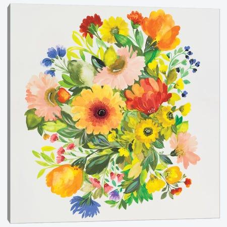 September Garden Bouquet Canvas Print #KPA69} by Kim Parker Canvas Artwork