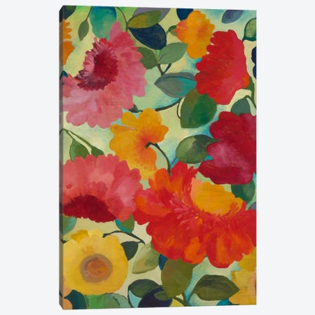 Love Flowers I Canvas Print #KPA6} by Kim Parker Canvas Wall Art