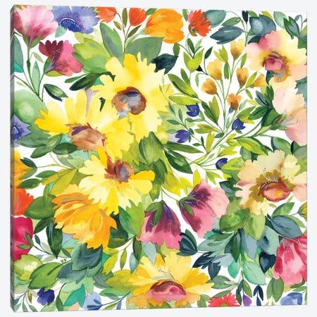 Lydia's Garden Canvas Print #KPA71} by Kim Parker Canvas Print