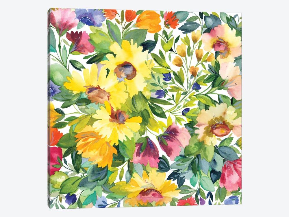 Lydia's Garden by Kim Parker 1-piece Art Print