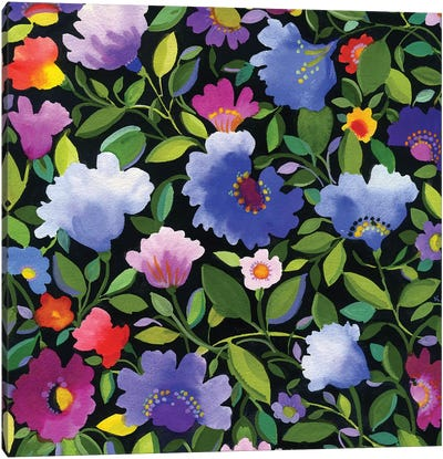 India Garden II Canvas Art Print