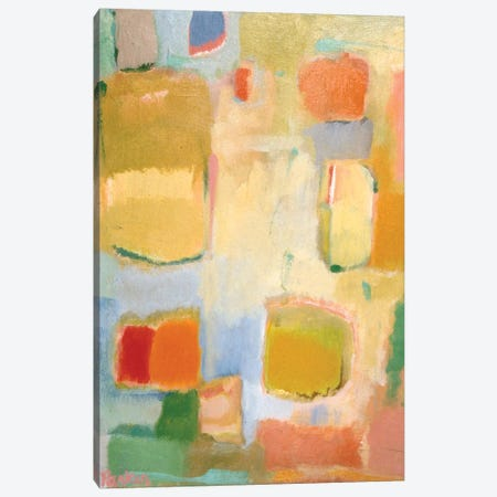 Color Essay In Yellow Canvas Print #KPA75} by Kim Parker Canvas Art