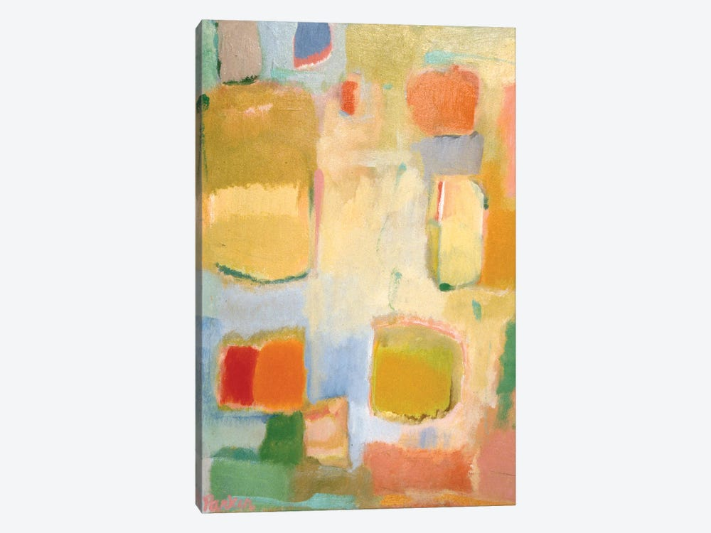 Color Essay In Yellow by Kim Parker 1-piece Canvas Print