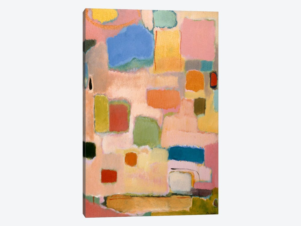Color Essay With Pink by Kim Parker 1-piece Canvas Print