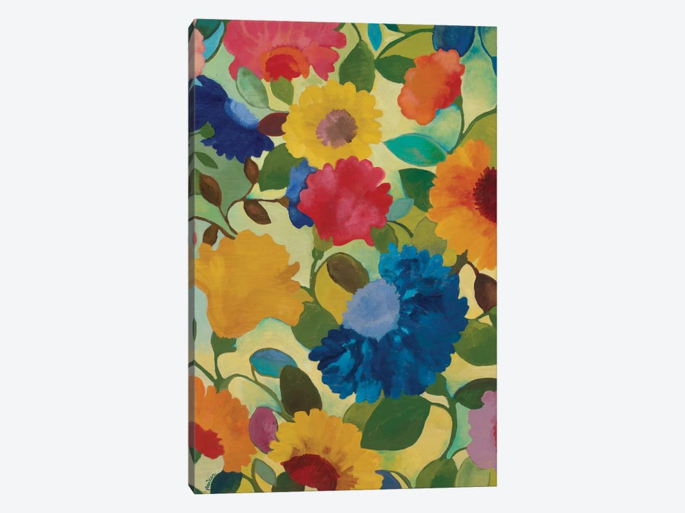 Love Flowers II by Kim Parker 1-piece Canvas Print