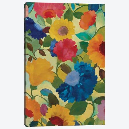 Love Flowers II Canvas Print #KPA7} by Kim Parker Canvas Wall Art