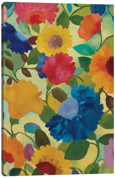 Love Flowers II Canvas Art Print