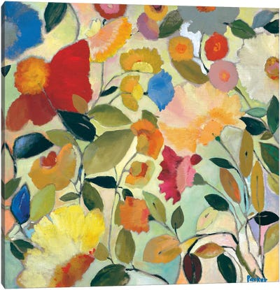 August Garden Canvas Art Print