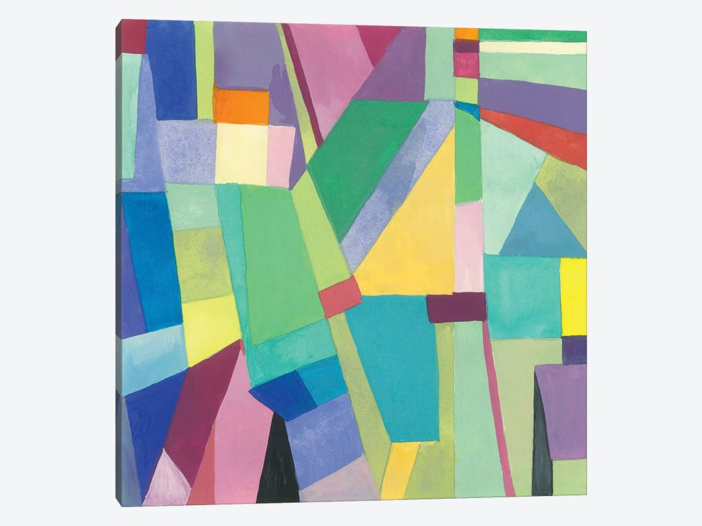 Dublin II by Kim Parker 1-piece Canvas Art Print