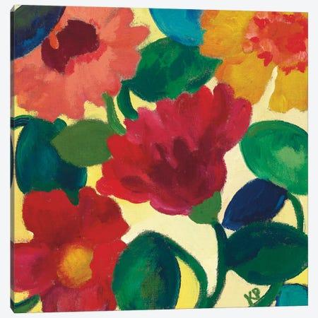 Ranunculus II Canvas Print #KPA9} by Kim Parker Art Print
