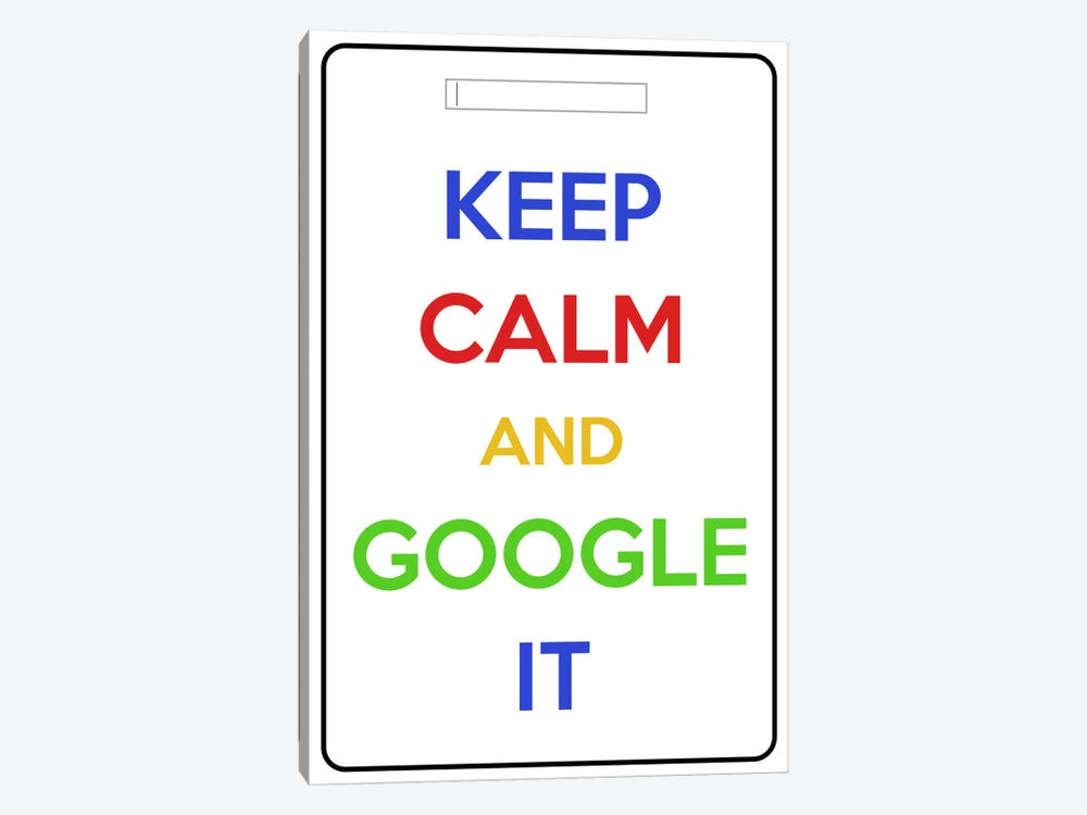 Keep Calm & Google It 1-piece Art Print