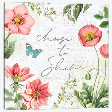 Studio Botanicals V 3-Piece Canvas #KPE10} by Katie Pertiet Canvas Print