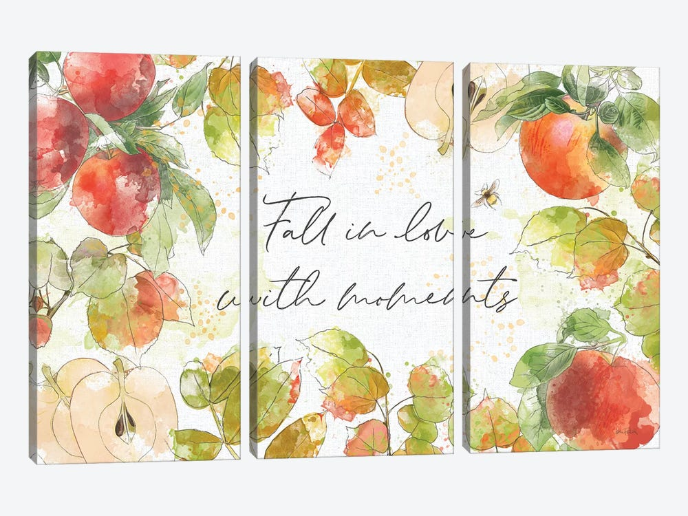 Orchard Harvest I by Katie Pertiet 3-piece Canvas Art