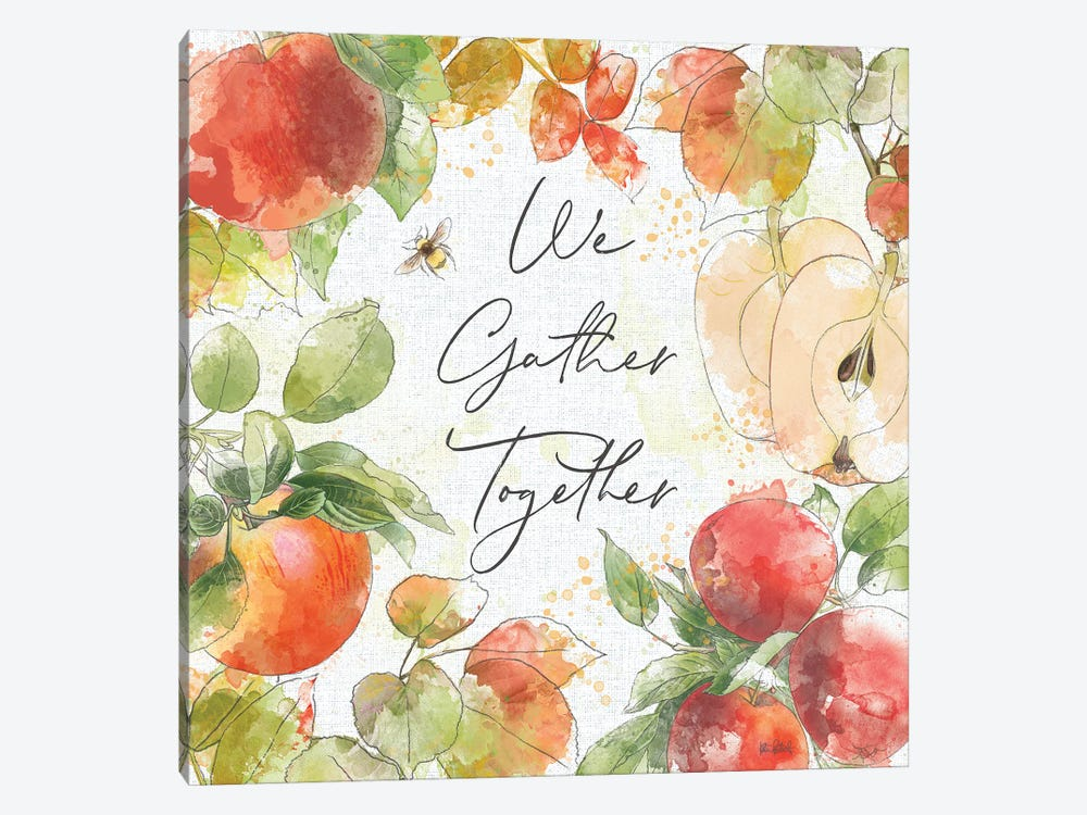 Orchard Harvest III by Katie Pertiet 1-piece Canvas Wall Art
