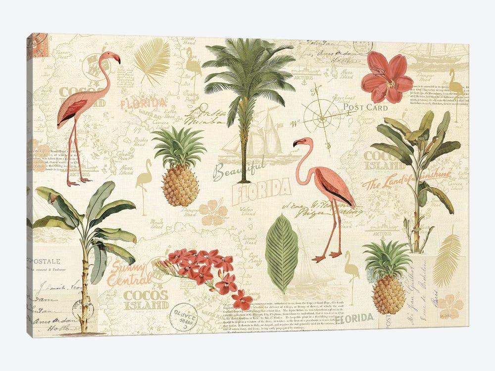 Floridian VI by Katie Pertiet 1-piece Canvas Art Print