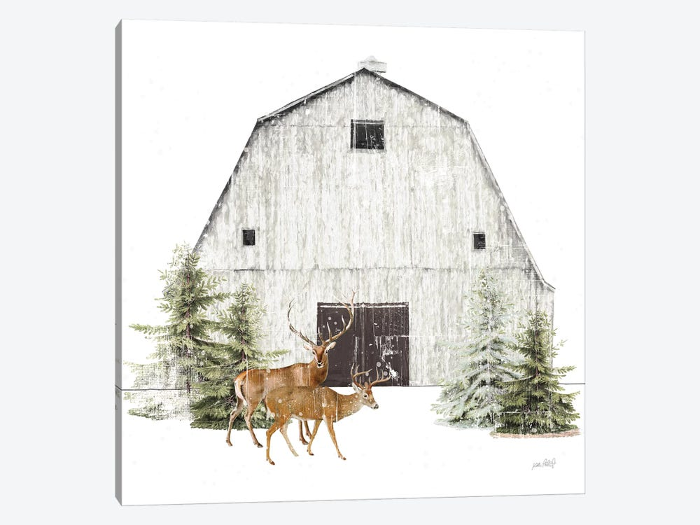 Wooded Holiday VI by Katie Pertiet 1-piece Art Print