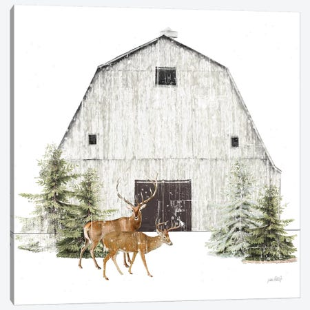 Wooded Holiday VI Canvas Print #KPE25} by Katie Pertiet Canvas Print