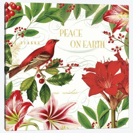 Christmas Garden II Canvas Print #KPE27} by Katie Pertiet Art Print