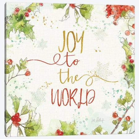 Christmas Sentiments V Canvas Print #KPE37} by Katie Pertiet Canvas Artwork