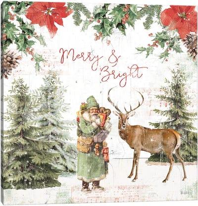 Wooded Holiday III Canvas Art Print