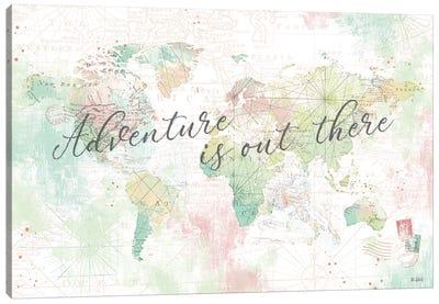 World Adventure I Canvas Art Print
