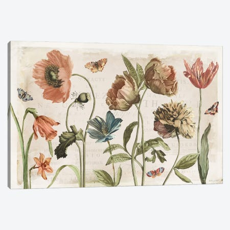 Antiquarian Blooms I Canvas Print #KPE60} by Katie Pertiet Canvas Art