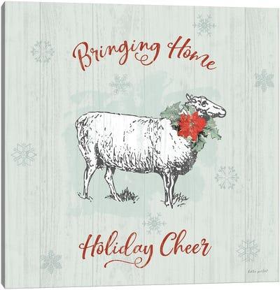 Farmhouse Christmas II Canvas Art Print