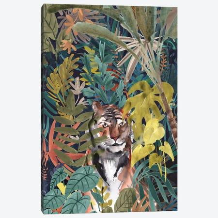 Jungle Mood Canvas Print #KPG2} by Karyn Panganiban Art Print