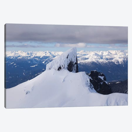 Aerial View Of Black Tusk Near Whistler, British Columbia, Canada Canvas Print #KPI1} by Kristin Piljay Art Print