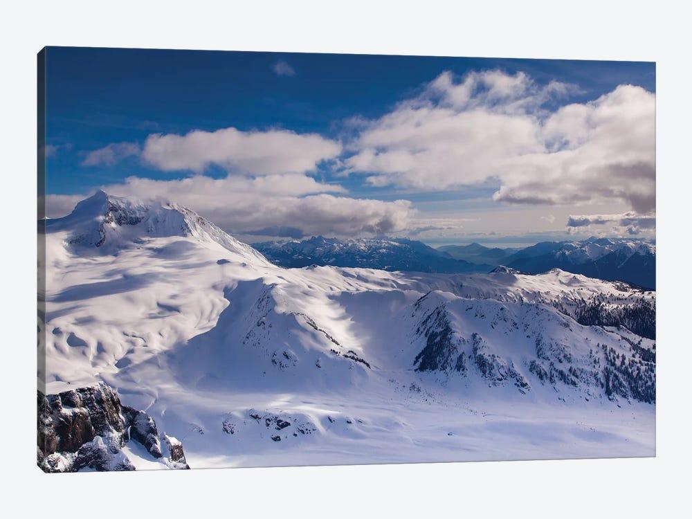 Aerial View, Coast Mountains, British Columbia, Canada by Kristin Piljay 1-piece Canvas Wall Art