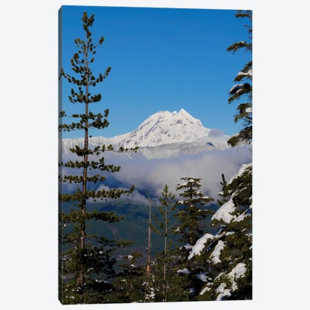 Mount Garibaldi From The Chief Overlook At The Summit Of The Sea To Sky Gondola Canvas Print #KPI7} by Kristin Piljay Canvas Art