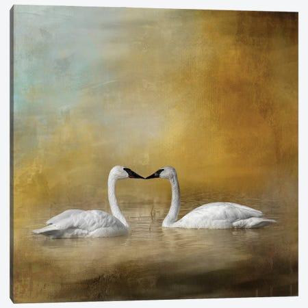 The Courtship Canvas Print #KPK129} by Kelley Parker Canvas Art