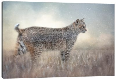 Winter Morning Outing Canvas Art Print