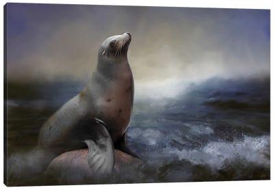 A Day At Sea Canvas Art Print
